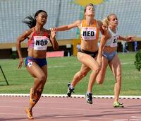 Ezinne Okparaebo: Vil ikke snakke om sprintdronningen