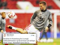 Morer seg med Bendtners nattklubb-historikk etter RBK-overgang