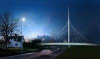 Prestisjebro skulle stått ferdig i juli– nå er det full monterings-stopp