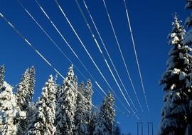 <p>DYRERE KRAFTVINTER: Strømprisen i vinter kan stige til den høyeste på seks år i følge NVEs oversikt.</p>