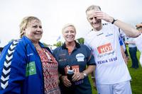 Velgerkrise for Ap-Jonas: Dårligste VG-måling på fire år - Erna fosser frem