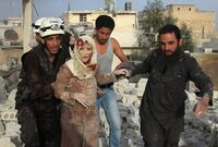 – 30.000 på flukt fra kamper i Syria