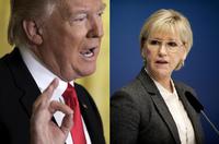 Sveriges utenriksminister om Trumps utspill: – Bra at vi fikk svar