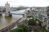 Minnemarkering i London etter terrorangrepet: – Dere vil aldri lykkes med å splitte vår by