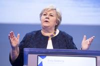 – Erna Solberg mangler mot