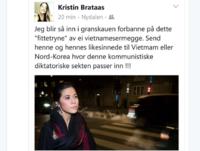 Frp-er måtte fjerne rasistisk Facebook-melding