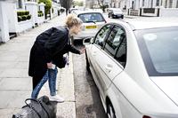 Utfordrer Uber med kvinnetaxi