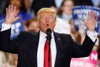 Trump feiret hundre «veldig produktive» dager som president