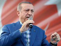 Erdogan: Barnebomber ble sendt ut i Messi-skjorte