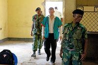Brende: Kongo vurderer benådning av French