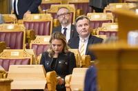 DAB-utsettelse på Stortinget - splittelse i Frp